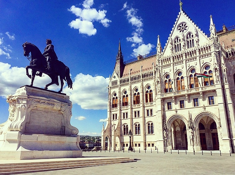 Budapest Hungary A Cookie A Compass